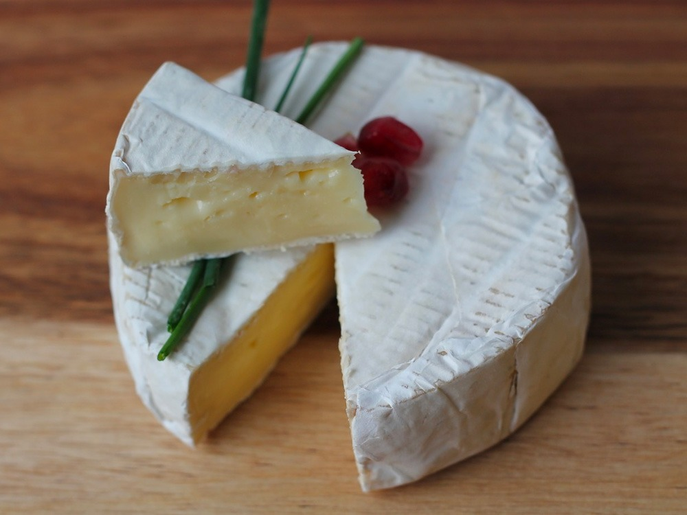 Camembert stinky cheese