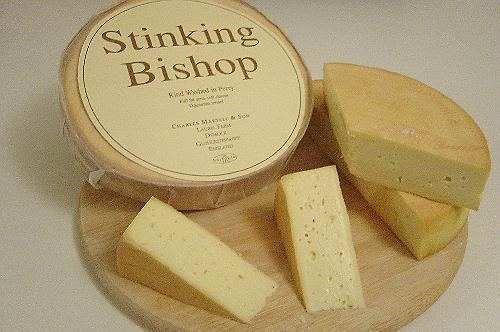 stinking bishop smelling cheese