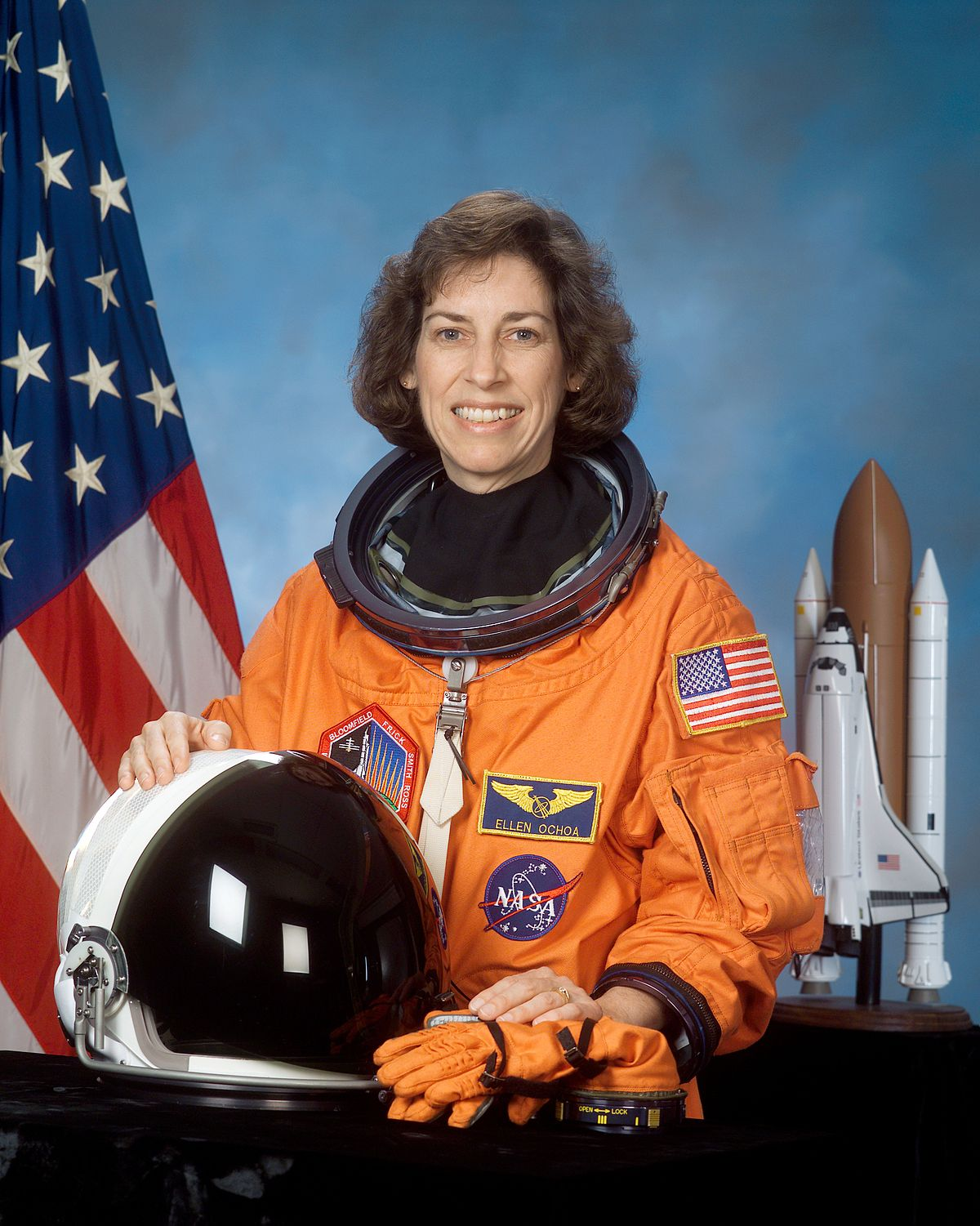 Ellen Ochoa famous female engineer